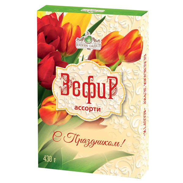 Белёвский зефир Ассорти (в подарочной упаковке), 430г